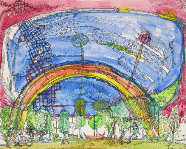 Ein Tag vor der Ewigkeit (der Regenbogen)