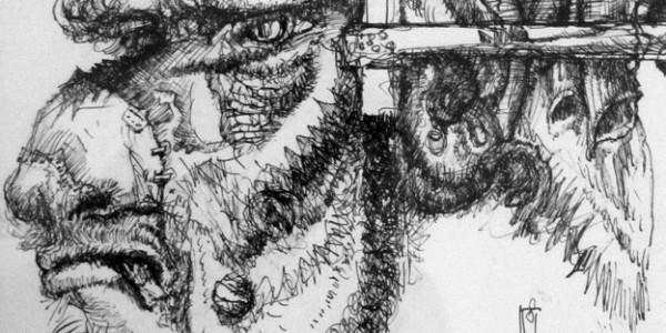 Grotesker Kopf (II/IV)
