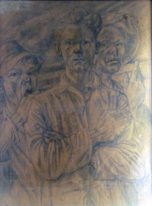 o.T. (drei junge Männer)