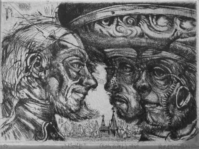 Drei Köpfe