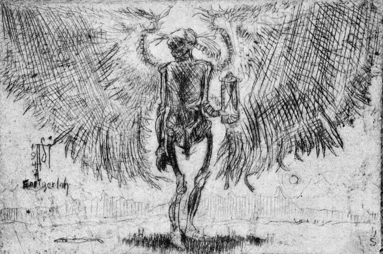 Tod mit Flügeln