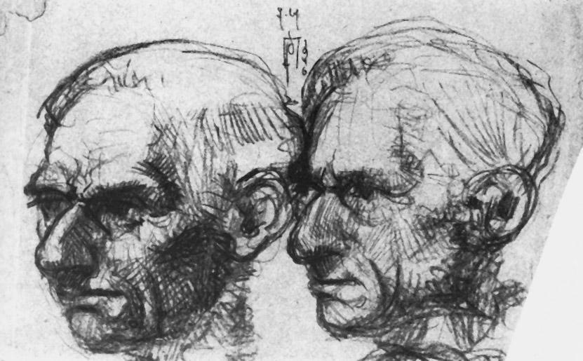 Porträt des Vaters