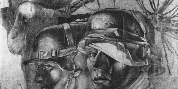 o.T. (zwei Soldaten)