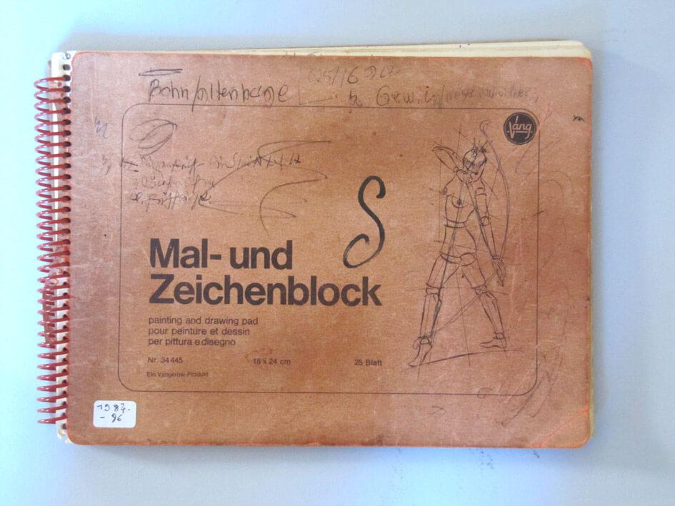 Skizzenbuch 1984-96