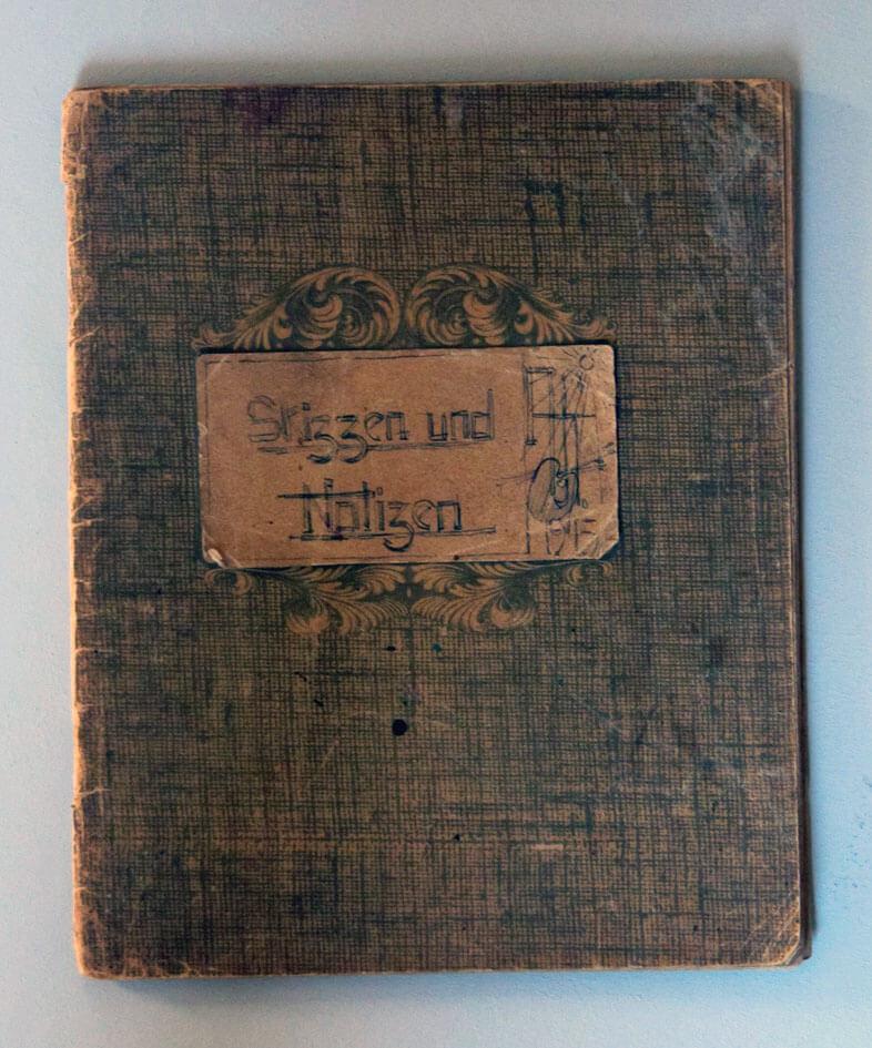 Skizzenbuch 1945 ff.