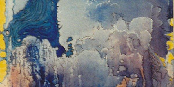 o.T. (blaue Bäume)