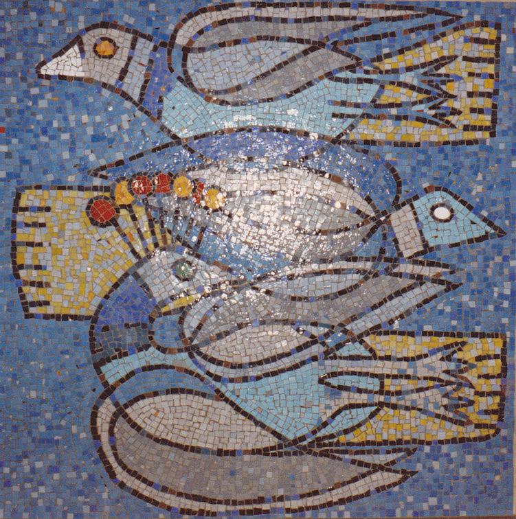 Vögel (Mosaik II)