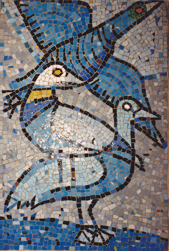 Vögel (Mosaik III)